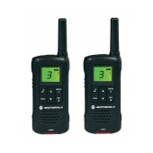 Walkie Talkie Motorola PMR T60 Black with Hands Free Connector   Coverage 8 km