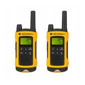 Walkie Talkie Motorola PMR T80 Extreme Orange, Waterproof, with Led Torch and Hands Free   Coverage 10 km