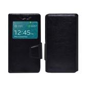 Book Case Ancus S-View Elastic Universal for Smartphone 4.9