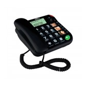 Telephone Maxcom KXT480 Black with Lcd, Incoming Ringing Led Indicator and Big Buttons