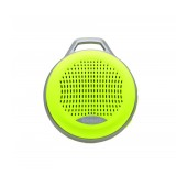 Mini Bluetooth Speaker Mobilis 3W Yellow with Speakerphone, FM Radio and MP3 Player with Micro SD Memory Card