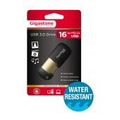 USB 3.0 Gigastone Flash Drive U307 16GB Black Professinal Series Velvet Frame