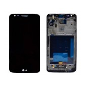 Original LCD & Digitizer for LG G2 D802 Black with OEM Frame