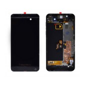 Original LCD with Digitizer for Blackberry Z10 3G Black with Frame, Receiver, Motor, Jack Connector and On/Off Button