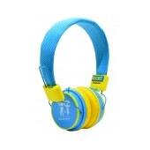 Stereo Earphone Baby EP-15 3.5 mm Blue - Yellow for mp3, mp4 and Sound Devices