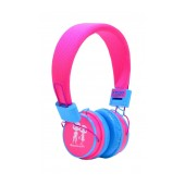 Stereo Earphone Baby EP-15 3.5 mm Fuchsia - Blue for mp3, mp4 and Sound Devices
