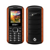 Maxcom MM901 (Dual Sim) Water-dust proof IP67 with Torch, FM Radio and Camera Orange - Black