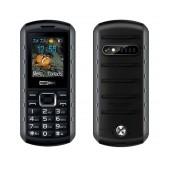 Maxcom MM901 (Dual Sim) Water-dust proof IP67 with Torch, FM Radio and Camera Grey - Black