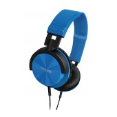 Philips Stereo Headphone DJ-Style Reversible 1000 mW 32mm SHL3060BL 3.5 mm blue for mp3, mp4 and sound devices