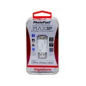 PhotoFast USB 3.0 i-FlashDrive Max 32GB OTG MFI for iPhone & iPad & iPod by Gigastone  PF-iFMAXU332GB-R