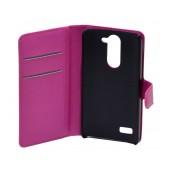 Book Case Ancus Teneo for LG L Bello D331/D335 Fuschia