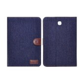 Book Case Ancus Teneo Fabric for Samsung SM-T350 Galaxy Tab A 8.0 Dark Blue