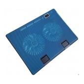 Laptop Cooler Mobilis Cooling Pad 668 Blue for Laptop up to 17