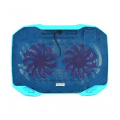 Laptop Cooler Mobilis Popu Pine F2 Blue for Laptop up to 17
