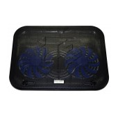 Laptop Cooler Mobilis Popu Pine F3 Black for Laptop up to 17