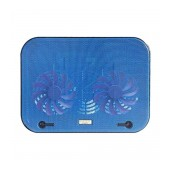 Laptop Cooler Mobilis Popu Pine F3 Blue for Laptop up to 17