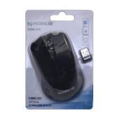 Mobilis CMM-353 Wireless Mouse 3 Button 1000 DPI Black (104*66*39mm)