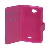 Book Case Ancus Teneo TPU for LG L65 D280N/L70 D320N Fuchsia