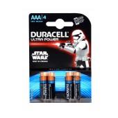 Alkaline Battery Duracell Ultra Power LR6 / MX2400 size AAA 1.5 V Psc. 4
