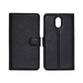 Book Case Ancus Teneo for Lenovo Vibe P1m Black