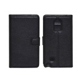 Book Case Ancus Teneo TPU for Samsung SM-N915FY Galaxy Note Edge Black