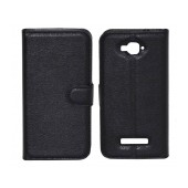 Book Case Ancus Teneo TPU for Alcatel One Touch Pop C7 OT-7040 Black