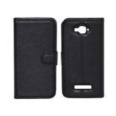 Book Case Ancus Teneo TPU for Alcatel One Touch Pop C7 OT-7040 Black