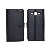 Book Case Ancus Teneo TPU for Samsung SM-G7102 Galaxy Grand 2 Black