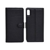 Book Case Ancus Teneo for Lenovo Vibe Shot Black