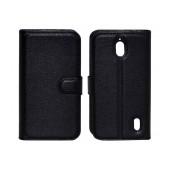 Book Case Ancus Teneo TPU for Huawei Ascend Y625 Black