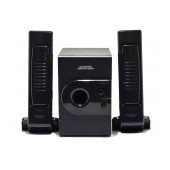 Speaker Stereo Camac CMK-808N/L 2.1 750W 5W+1Wx2 RMS Black with EU plug 23x5.5x4mm