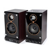 Multimedia Speaker Stereo Nakai SE-236 2.1 10Wx2 RMS Brown with USB, SD Port 22.5x12x14cm