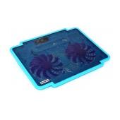 Laptop Cooler Mobilis K17 Blue for Laptop up to 15.6