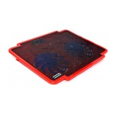 Laptop Cooler Mobilis K17 Red for Laptop up to 15.6