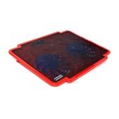 Laptop Cooler Mobilis K17 Red for Laptop up to 15.6