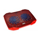 Laptop Cooler Mobilis F2 Red for Laptop up to 15.6