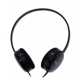 Stereo Headphones Keeka U-1 3.5 mm for Apple-Samsung-HTC-BlackBerry-LG Black