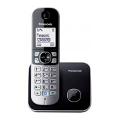 Dect/Gap Panasonic KX-TG6811 (EU) Black with ECO Mode