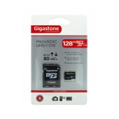 Flash Memory Card Gigastone MicroSDXC UHS-1 128GB C10 Professional Series with Adapter