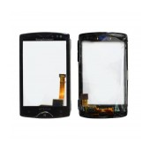 Digitizer S.Ericsson Xperia Mini Black with Front Cover, without Tape Original Swap