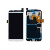 Original LCD & Digitizer Motorola Moto X (XT1052) White with Frame, without Tape Original