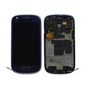 Original LCD & Digitizer Samsung i8190 Galaxy S3 Mini ( S III Mini ) Blue with OEM Frame