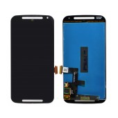 Original LCD with Digitizer for Motorola Moto G (2014) Black without Frame