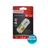 USB 3.0 Gigastone Flash Drive U307 16GB White Professinal Series Velvet Frame