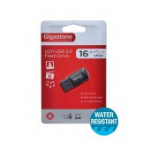 USB 2.0 Gigastone Flash Drive U211 Traveler 16GB Black