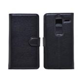Book Case Ancus Teneo for LG Zero H650 Black