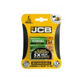 Rechargeable Battery JCB 4000 mAh size C Ni-MH 1.2V Pcs. 2