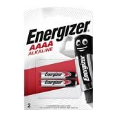 Battery Alkaline Energizer AAAA 1.5V Pcs. 2