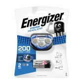 Energizer Vision Headlight 2 Led 100 Lumens with Batteries 3 x AAA Blue