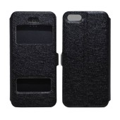 Book Case Ancus S-View for Apple iPhone 5/5S/SE Black